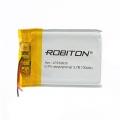 Аккумулятор Robiton LP232635 Li-Pol 3.7V  130mAh + защ.