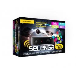 Цифровой эфирный ресивер DVB-T2  SELENGA T60