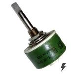 К   1.0 К ППБ-15Г 5% резистор переменный (