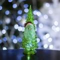 Елочка и Дед мороз, 1LED RGB прозрачная