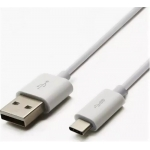 Шнур USB 3.1 type C (male)-USB 2.0 (male) 1 м белый
