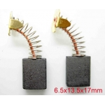 Щетка для электродвигателя brush 6.5x13.5x17 spring