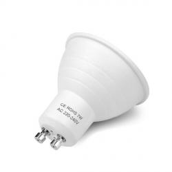 Лампа светодиодная ASD GU10 10W   6500 K 55*50 мат.