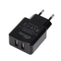 Сетевое зарядное устройство RM-2025AC  2 USB  2А