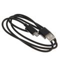 Кабель RITMIX micro USB - USB 1А 1м черный
