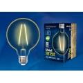 Лампа светодирдная Uniel G95 E27 4W 2250K филамент винтаж