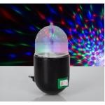 Лампа-ночник хрустальный шар 220V