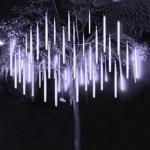 Светодиодная сосулька тающая 0,3 м белый 220V