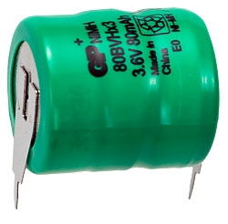 Аккумулятор 80BVH 3,6V 80mAH аккум. сборка аналог Д-0,26