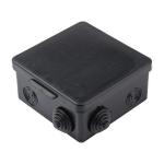 Коробка распаячная наруж. с крышкой 105х105х50  8 входов IP5