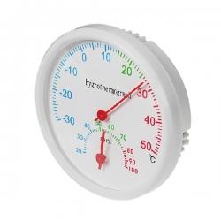Термометр уличный, гигрометр d=6.5,