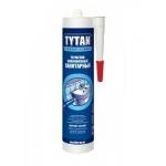 Герметик Титан силиконовый санитарный белый