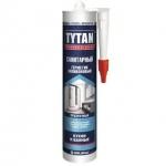 Герметик Титан силиконовый санитарный прозрачный