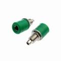 Клемма Z031 4mm Panel-mount Socket,Green/Зеленый/