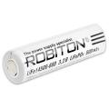Аккумулятор LiFe14500-600 3.2V 600mAh Robiton без защиты