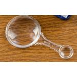 Лупа с прозрачным корпусом 3х, 6х, d=4см