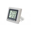 TM1011/Термометр с влажностью и часами/