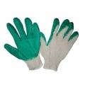 Перчатки вязаные с двойным латексным покрытием.