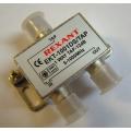 Ответвитель 1 отвод-12дБ /EKT-1001DS/TAR/