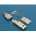 USBA-CP вилка на кабель /обжим/