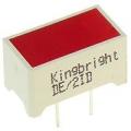 DE/2ID светодиод красный 7.5х14мм/9 mcd (7.5*14)