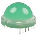 DLA/6SGD светодиод зеленый 20мм/70-200 mcd