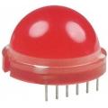 DLA/6SRD светодиод красный 20мм/100-400 mcd