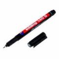маркер EDDING141F D=0.6/для надп.на ПВХ/ (Black)