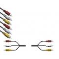 ШНУР 3-3  тюльпан /1,5 м/ (FD5022)