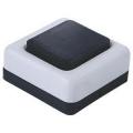 Кнопка  звонка А10,4-001 черно-белая
