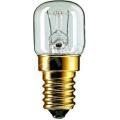 Лампа нак. для духовок +300^  15 W E14 прозрачная