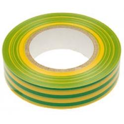 Изолента 19 х 20 м желто-зеленая (Klebebander) (Желто-зел)