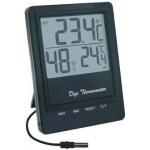 TM1026 Термометр комнатно-уличный черный