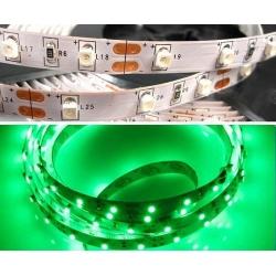 Светодиодная лента 3528-60G-8mm-12V-4,8W Ip65 /зеленая/