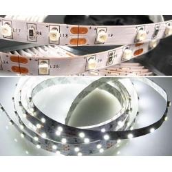 Светодиодная лента 3528-60W-8mm-12V-4,8W Ip65 / белый/ (6000-6500К)