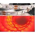 Светодиодная лента 3528-60R-8mm-12V-4,8W Ip65 /красный/