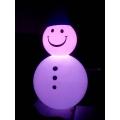 Снеговик с подсветкой LED