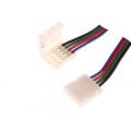 Коннектор для светод.ленты SMD3528 RGB  соед. с кабелем