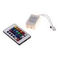 Контроллер 1 для LED RGB модулей/лент 12V 40W с пультом ДУ (24 кнопки)
