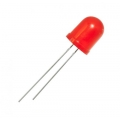 L-813IDcветодиод красный 10 мм/ 100 mcd