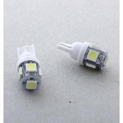 Автолампа светод. 5-SMD-5050  T10