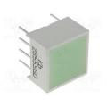 KB-2855SGD светодиод зеленый 9,94х9,94мм/20-54 mcd
