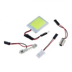 Автолампа светод. 1LED-COB 2W 12V салон. освещ.белый (белый)