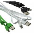 ШНУР USB to  MicroUSB  ultraflat длина 1Метр