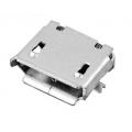 MICRO USB B 5pin female SMT  розетка на плату