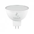Лампа светодиодная ЭКОНОМКА MR16 5W GU5.3  380Lm 4500K м/с