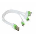 Шнур-переходник USB-micro USB/lighting iPhon 5/6/7