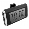 Часы-термометр  LCD с подсветкой