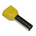 НШВИ2 1-,0-8  /TE1.0-8/наконечник штыревой двойной 1 мм2