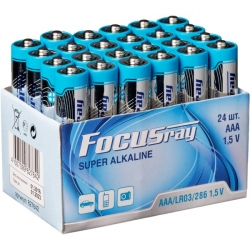 эл.питания Focusray Super Alkaline LR03/286 AAA (BOX24)